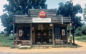 Coleman's Café, Greensboro, Alabama, 1977
