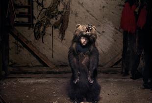 Ciprian, the Bear Dancer (Salatruc, East Romania), 2013 © Tamas Dezso