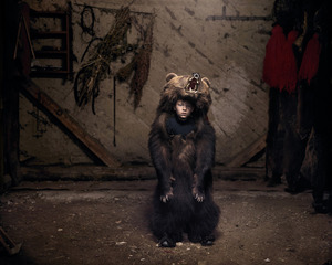 Ciprian, the Bear Dancer (Salatruc, East Romania), 2013 © Tamas Dezso