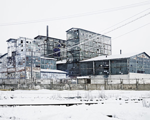 Sodium Factory (Ocna-Mures, Central Romania), 2012 © Tamas Dezso