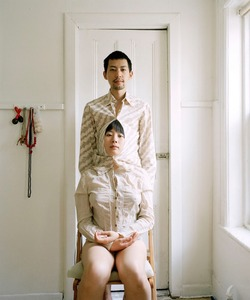 "Try to live like a pair of siamese twins. From the series ""Experimental Relationship"" © Yijun Liao"