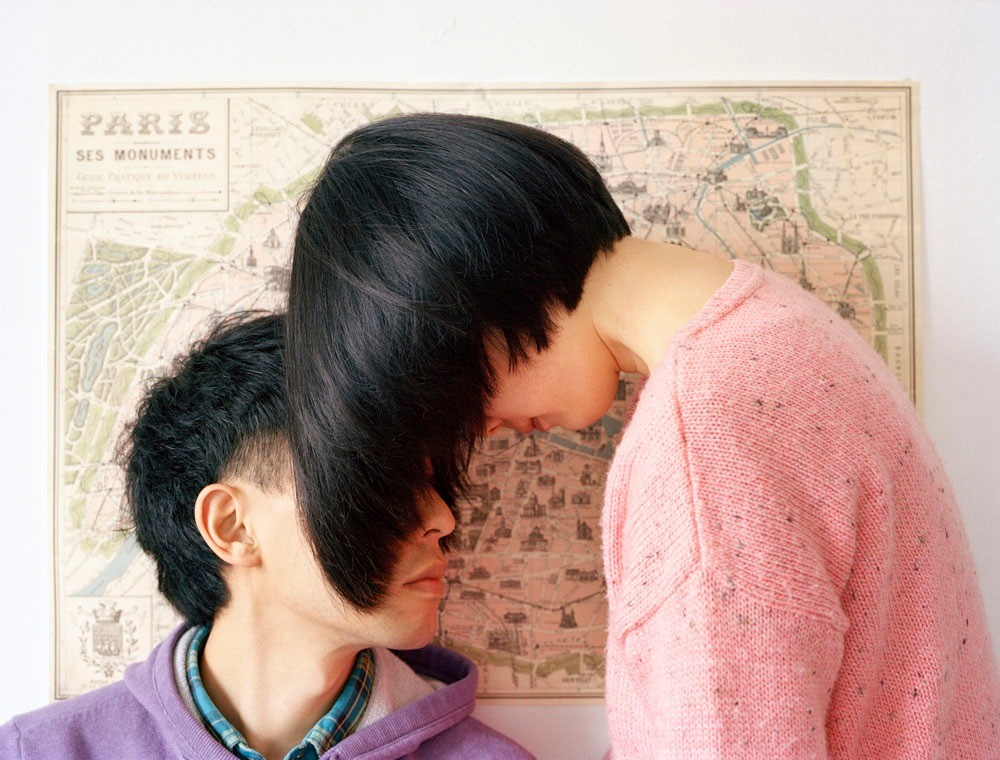 "Creating a world just for us. From the series ""Experimental Relationship"" © Yijun Liao"