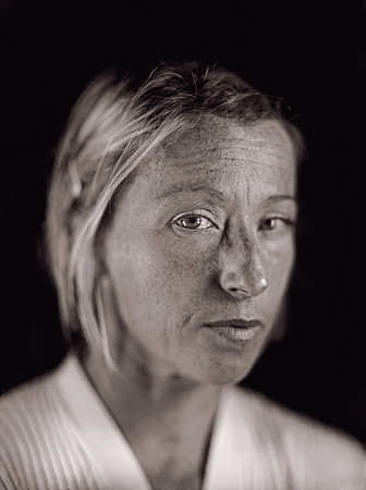 <i>Cindy Sherman</i> by Chuck Close from <i>A Couple of Ways of Doing Something</i> (Aperture 2006)