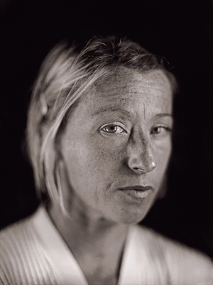 Cindy Sherman by Chuck Close from A Couple of Ways of Doing Something (Aperture 2006)