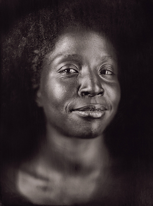 Lorna Simpson by Chuck Close from A Couple of Ways of Doing Something (Aperture 2006)