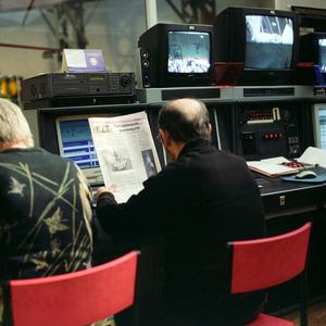 Control room,  Vykhod specialised simulator, Star City. © Maria Gruzdeva