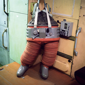 Negative pressure suit (ODNT), Mir space station, Star City. © Maria Gruzdeva