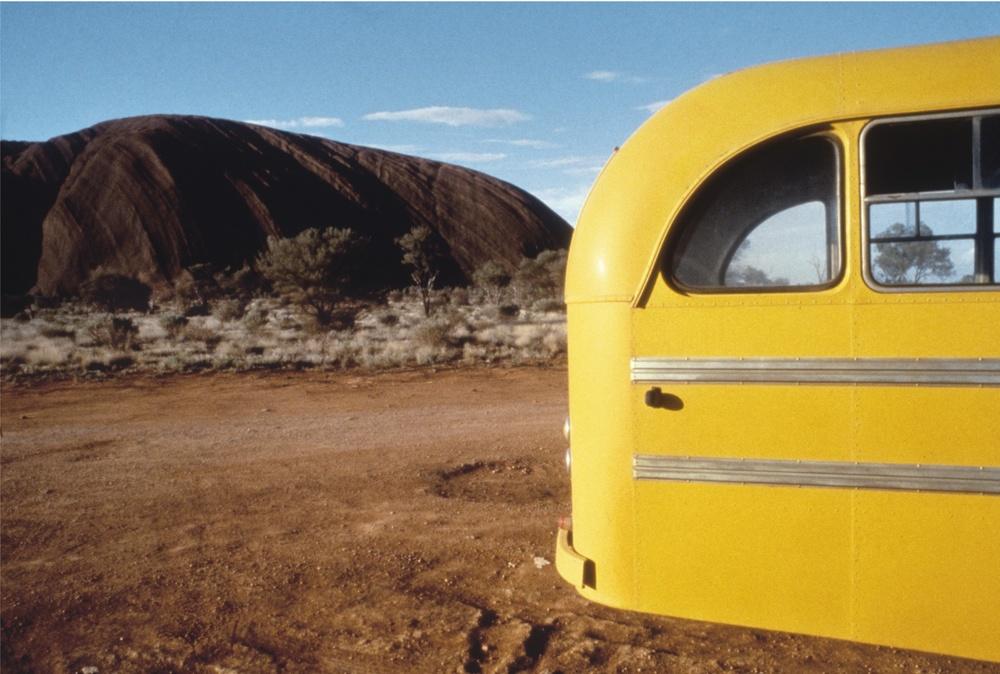 Yellow Bus, Uluru, 1977