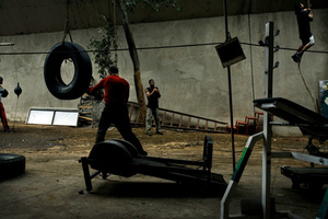 1st prize Sports Features Stories, © João Kehl, Brazil, Cia de Foto, Boxing gym, Sao Paulo