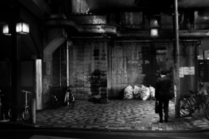1st prize Daily Life Stories, © David Guttenfelder, USA, The Associated Press, The lonely man, Tokyo