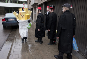 Purim, Antwerp © Nick Hannes