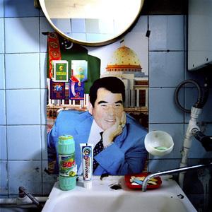 "1st prize Portraits Stories, © Nicolas Righetti, Switzerland, Rezo, ""Father of the Turkmen"" President Nyazov of Turkmenistan"