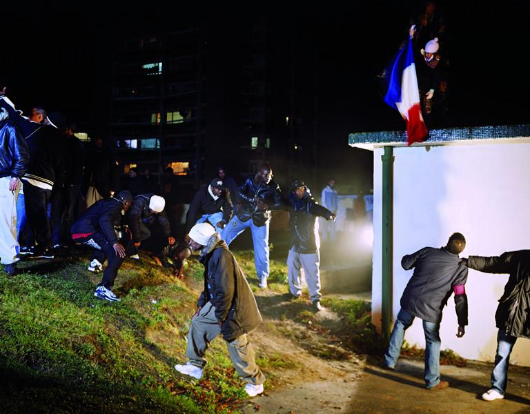 © Mohamed Bourouissa. La Republique. 2006, Paris. Series: Périphérique