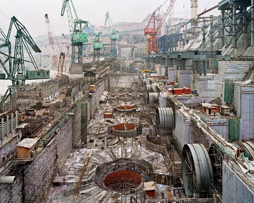 Dam #6, Three Gorges Dam Project, Yangtze River, 2005 © Edward Burtynsky