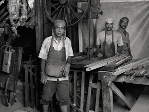 SAW-MILL OWNER AND HANDS, $50 WEEKLY, 2012 © Supranav Dash