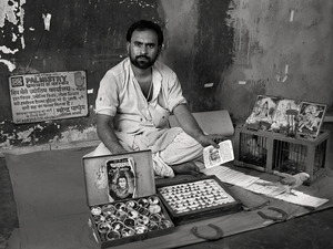 STREET ASTROLOGER, $50 WEEKLY, 2012 © Supranav Dash