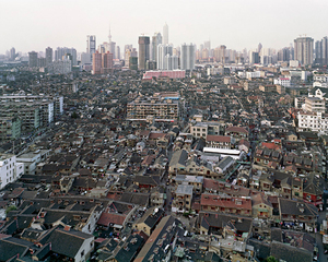 Urban Renewal #4, Old City Overview, Shanghai, 2004 © Edward Burtynsky