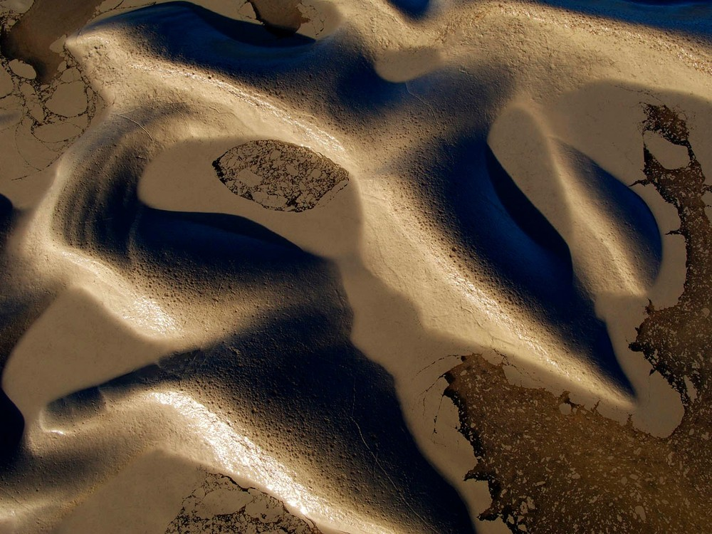 """WHERE  TOPOPHILIA  LEADS. From the series """"Wildland Calligraphy, Documenting Watershed Signatures"""" © Douglas A. Yates"""