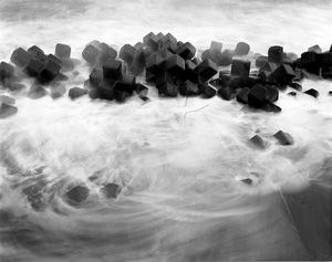 "Contaminated sea water in Minamisoma. From the series ""Fragments/Fukushima"" © Kosuke Okahara"