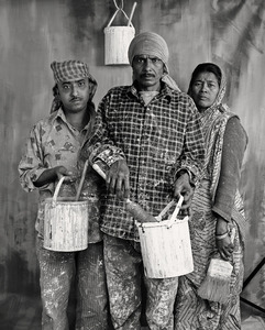 HOUSE PAINTERS (WHITE LIME WASH), $70 WEEKLY, 2013 © Supranav Dash