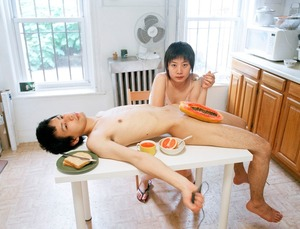 "Start your day with a good breakfast together. From the series ""Experimental Relationship"" © Yijun Liao. 2nd place, Portfolio Category, 2013 LensCulture Exposure Awards"