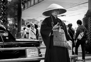 Meditating in the city... Tokyo