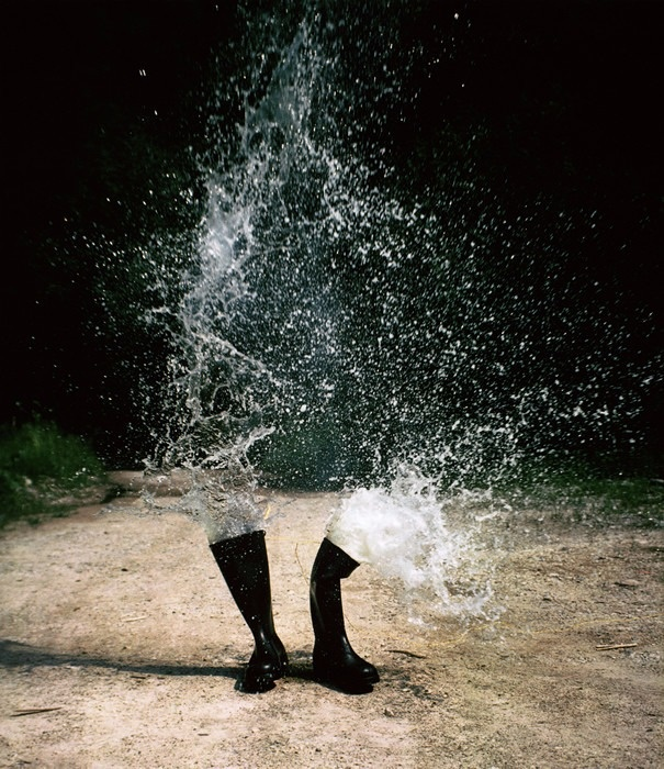 Wasserstiefel (Water boots). Courtesy of Prix Pictet 2008.