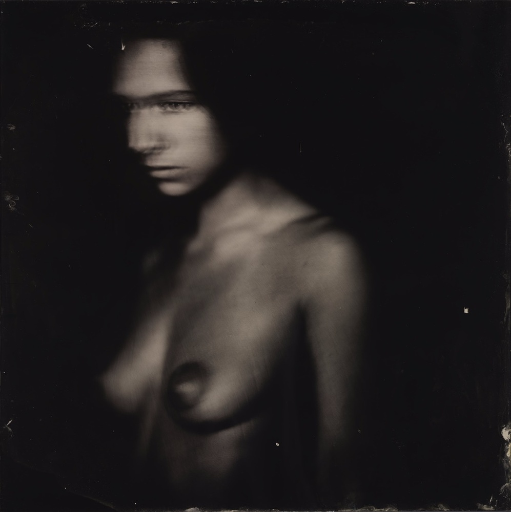 Untitled. Ambrotype.
