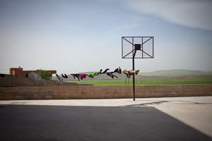 © Maciej Moskwa/TESTIGO.pl March 2013, Playground in Al Habet, Hama province.