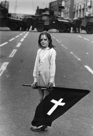 Northern Ireland. Londonderry. Funeral. 1987. © Christine Spengler