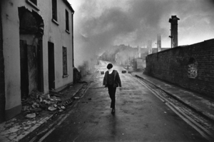 """Northern Ireland. 1972. From the book """"War Photographer: Between Shadow and Light"""" © Christine Spengler"""