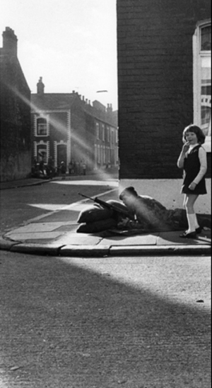 "Northern Ireland. Belfast. 1972. From the book ""War Photographer: Between Shadow and Light"" © Christine Spengler"