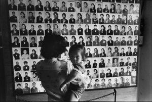"""Cambodia. Phnom-Penh. Museum of torture and genocide. 1985. From the book """"War Photographer: Between Shadow and Light"""" © Christine Spengler"""