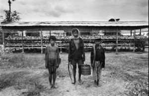 "Cambodia. Mass grave of Choeung Ek. 1985. From the book ""War Photographer: Between Shadow and Light"" © Christine Spengler"