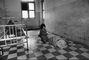 """Cambodia. Hospital in Phnom-Penh. 1975. From the book """"War Photographer: Between Shadow and Light"""" © Christine Spengler"""
