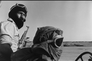 """The Western Sahara. Polisario. Bachir and Suelma in Guelta Zemmour. 1981. From the book """"War Photographer: Between Shadow and Light"""" © Christine Spengler"""