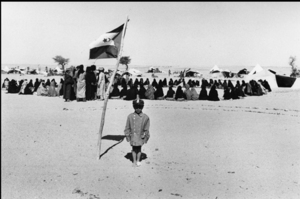 """The Western Sahara. Child of the Polisario Front. 1976. From the book """"War Photographer: Between Shadow and Light"""" © Christine Spengler"""