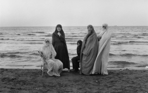 """Iran. Weekend at the Caspian Sea. 1979. From the book """"War Photographer: Between Shadow and Light"""" © Christine Spengler"""