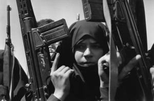 """Iran. Guardians of the revolution. 1979. From the book """"War Photographer: Between Shadow and Light"""" © Christine Spengler"""