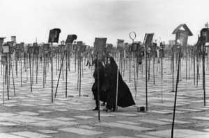 """Iran. Cemetery of the martyrs of Qom. 1979. From the book """"War Photographer: Between Shadow and Light"""" © Christine Spengler"""