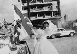 "Lebanon. West Beirut. 1996. From the book ""War Photographer: Between Shadow and Light"" © Christine Spengler"