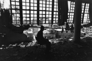 """Lebanon. Beirut. Psychiatric hospital of Sabred. 1982. From the book """"War Photographer: Between Shadow and Light"""" © Christine Spengler"""