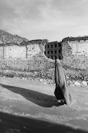 """Afghanistan. Kabul. 1997. From the book """"War Photographer: Between Shadow and Light"""" © Christine Spengler"""