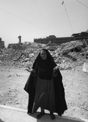 "Iraq. d'Al Rascid refugee camp. 2003. From the book ""War Photographer: Between Shadow and Light"" © Christine Spengler"
