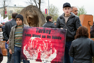 Commemmoration of the Armenian genocide