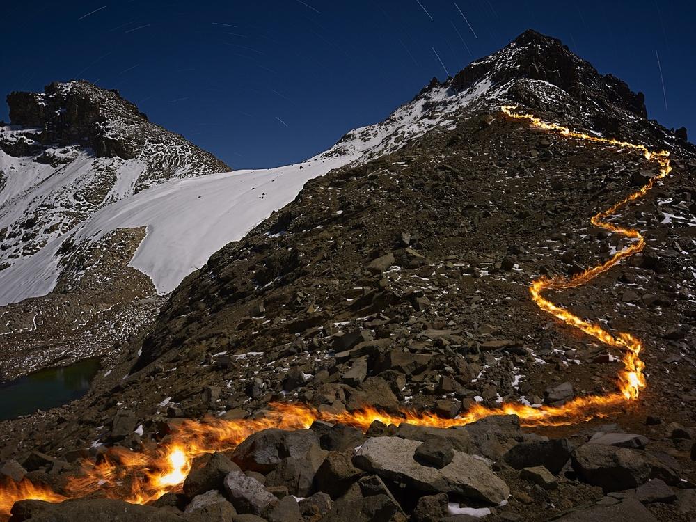 The melting away of the Lewis Glacier on Mt. Kenya, 1934. 1st Place, Fine Art Series, LensCulture Earth Awards 2015.