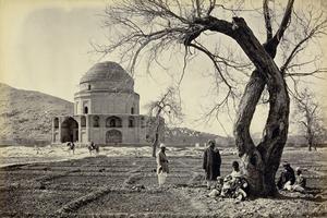 """""""Timur Shahs Mosque."""" © John Burke."""