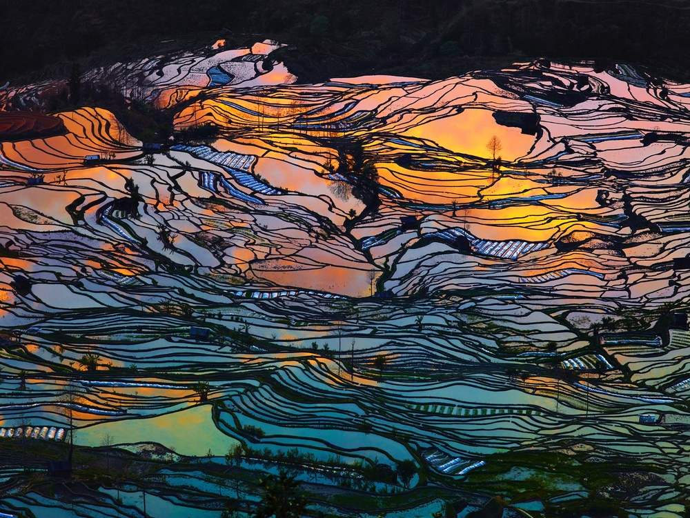 God's Palette, Yunnan, China. Finalist, LensCulture Earth Awards 2015.