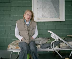 Julia on the porch, 2006. © Blake Fitch