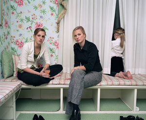 Girls at Mame and Granddad's, 2005. © Blake Fitch